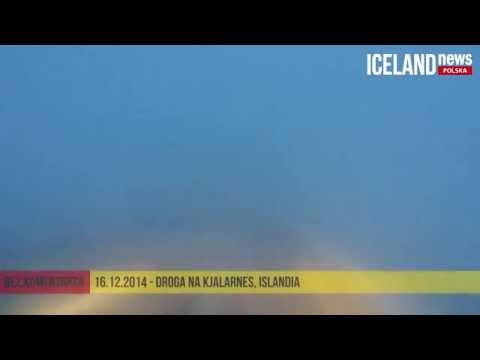 Droga na Kjalarnes (16.12.2014) - Iceland News Polska