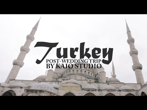 Post-wedding trip video in Turkey by KAIO STUDIO.