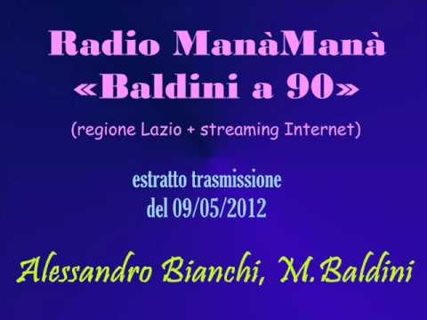Radio ManàManà – 09/05/2012 – Alessandro Bianchi, comico di Copernico