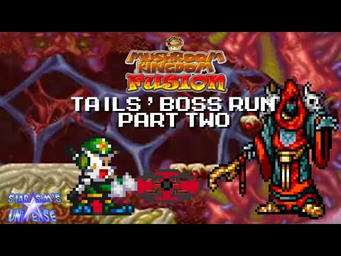 Mushroom Kingdom Fusion - Tails' Boss Run 2
