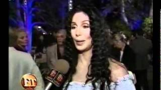 Cher  - ET Interview The Party for President Clinton (2000)