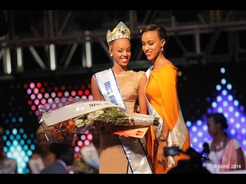 Miss Rwanda 2016 Grand Finale Full Event   Mutesi Jolly crowned