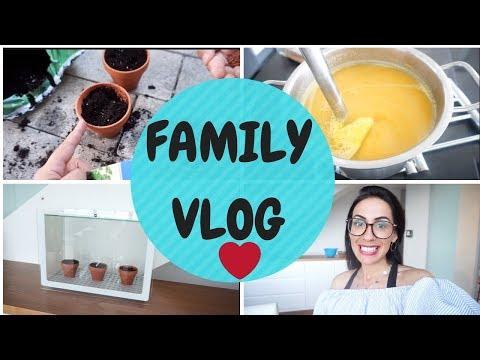 Lieblingssuppe I Unser Gewächshaus I Erdbeeren I Family Vlog Rosella Mia
