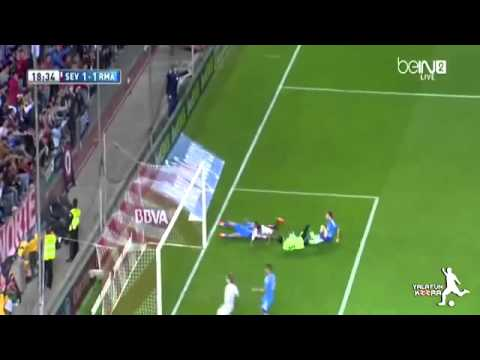 Sevilla vs Real Madrid 2-1 All Goals and Highlights HD 2014