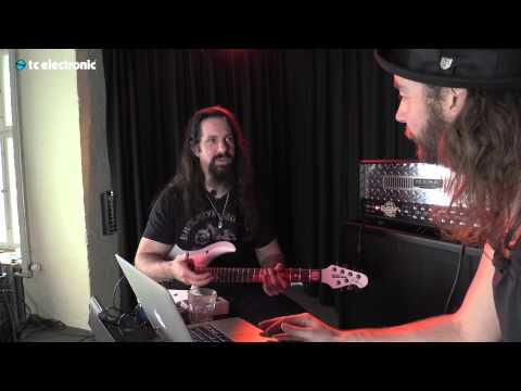 John Petrucci uses his