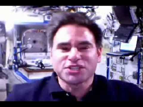 Ask Astronaut Greg Chamitoff:  The Smell of Space