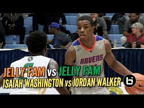 Jelly Fam vs Jelly Fam! Isaiah Washington vs Jordan Walker: Slam Dunk to the Beach
