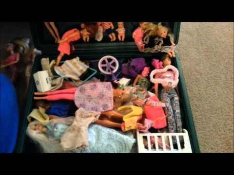 Childhood Barbie Doll Collection (90's Barbies)