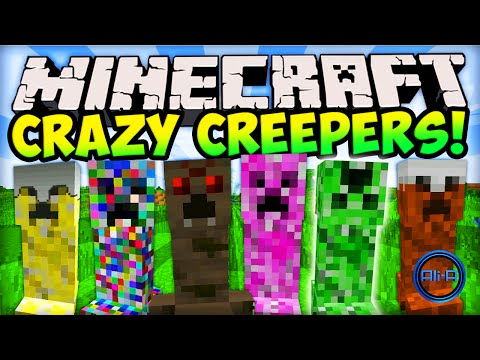 Minecraft CRAZY CREEPERS! (EPIC CREEPER MOD) - Minecraft Mods