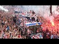 Huge celebrations as Croatia's World Cup team arrives in Zagreb