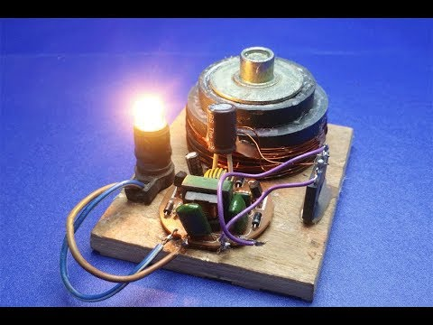 Free energy light bulbs 12v generator with magnets  - new ideas 2018 thumbnail