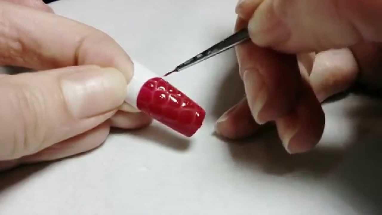 Как делать объемный дизайн ногтей
