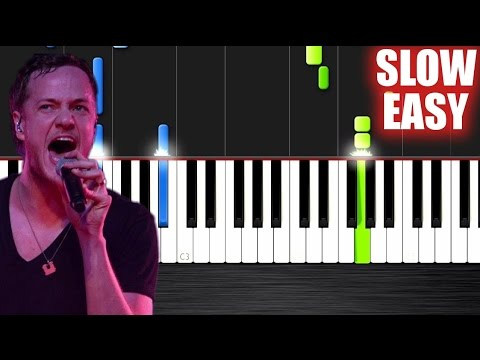 Imagine Dragons - Demons - SLOW EASY Piano Tutorial by Peter PlutaX