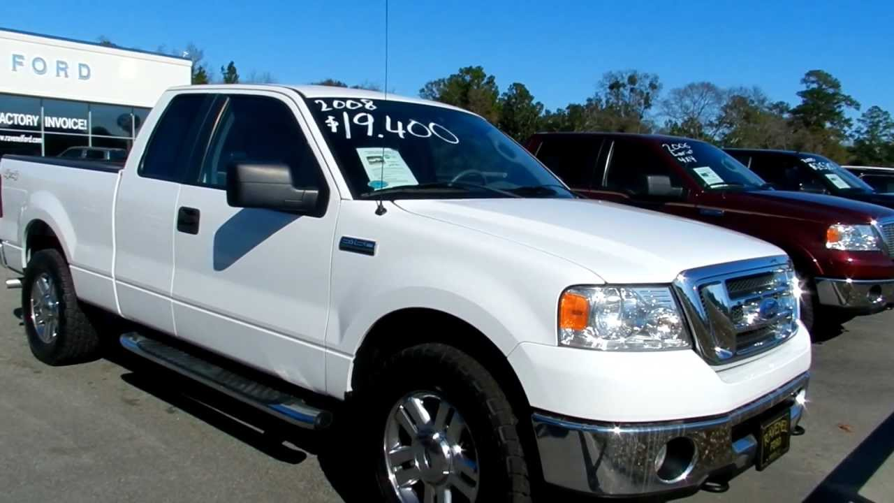 2008 Ford F 150 Xlt Supercab 4x4 New Tires For Sale