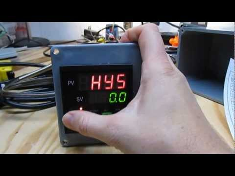 PID Temperature Controller for Heating/Cooling of Beer Fermentation