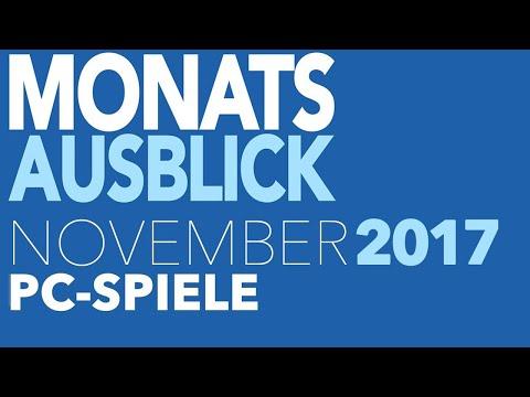 Neue PC-Spiele im November 2017 - Vorschau: letzte Blockbuster des Jahres