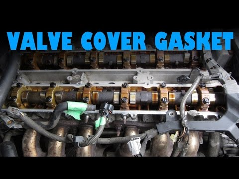 2JZ Valve Cover Gasket and Spark Plugs:  Lexus GS300 and IS300