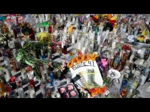 Tribute to the victims of the Las Vegas attack