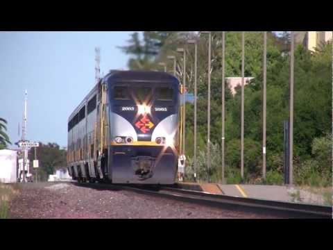 (HD) Railfanning Antioch, Ca.