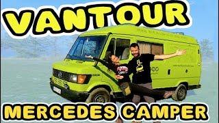 VANTOUR FINAL Camperización de furgoneta Mercedes en 28 días