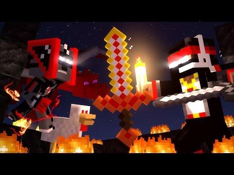 Пылающая душа Minecraft Animation (2 миллиона подписчиков!)