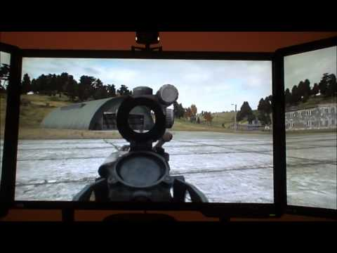 Eyefinity and Trackir5 demo