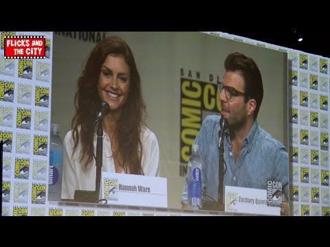Hitman Agent 47 Comic Con Panel - Zachary Quinto & Hannah Ware
