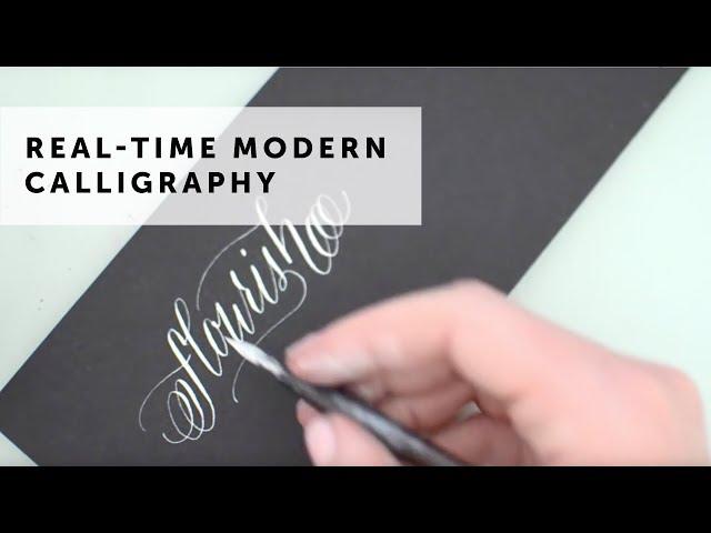 Flourish - Modern Calligraphy