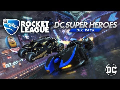 Rocket League® - DC Super Heroes DLC Trailer