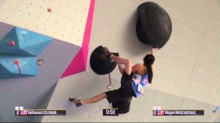 Boulder World Cup 2015 - Hard Moves Part 1