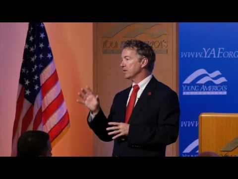 Rand Paul On The Future Of The GOP Party