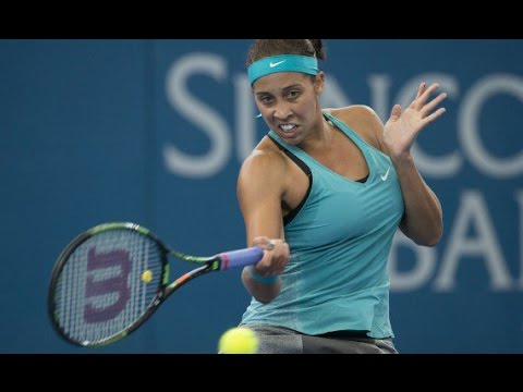 Madison Keys v Dominika Cibulkova highlights (1R) - Brisbane International 2015