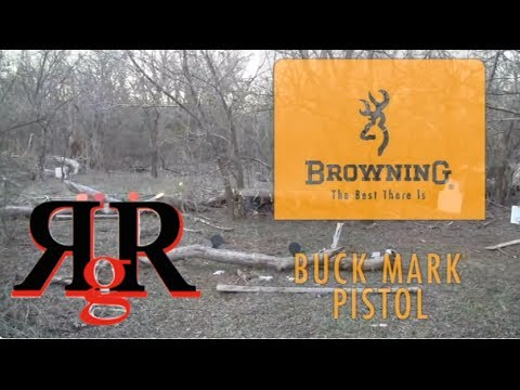 Browning Buck Mark .22 Review and Field Strip