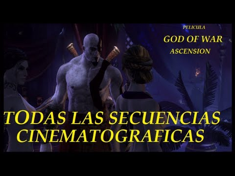 Pelicula God of War Ascension - Todas las Secuencias Cinematograficas HD - Todas las intros
