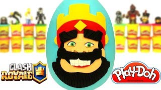 Clash Royale Sürpriz Yumurta Oyun Hamuru Play Doh - Clash of Clans Transformes