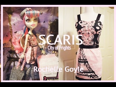 How to make Monster High Scaris Rochelle Goyle Costume