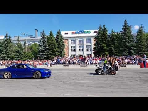 Дрифт шоу / Бугульма 2018/ Парад участников ралли «Шелковый путь»-SilkWay Rally 2018 ч.2
