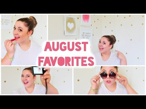 August Favorites from my NEW ROOM!