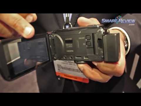CES 2013: Canon Vixia HF R40 HD Camcorder   Built in WiFi Connectivity   HFR40