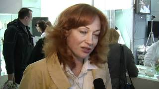 Актриса Виктория Тарасова на INTERCHARM Professional 2012