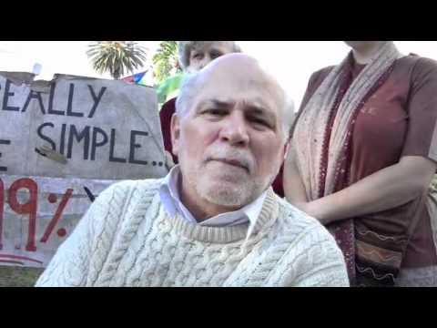 Ron Kovic of Born on the 4th of July Interview at Occupy LA