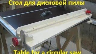 Приспособление для ручной дисковой пилы своими руками