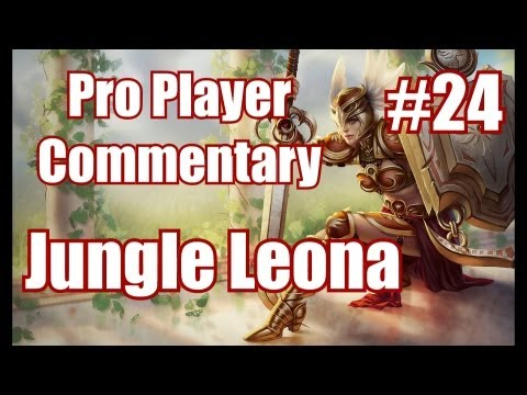 Season 3 Leona Jungle | High Elo Gameplay Commentary ft.DB Brokenshard | League of Legends