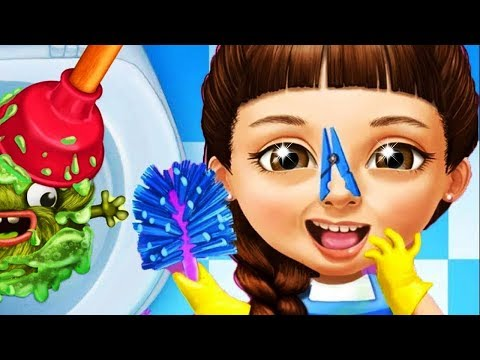 Sweet Baby Girl Cleanup 5 Messy House Makeover Games Videos for Kids babies toddlers Letsplay