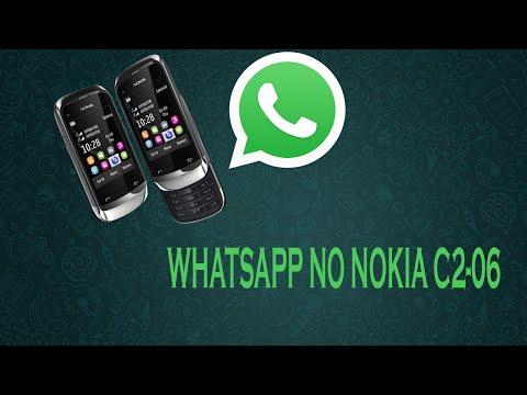 Como baixar WhatsApp para Nokia C2-06
