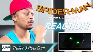 SPIDER-MAN: HOMECOMING Trailer 3 REACTION