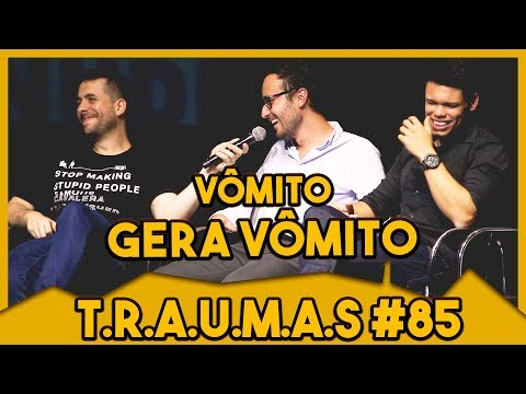 T.R.A.U.M.A.S. #85 - VÔMITO CAUSA VÔMITO (Estoril, PT) Vídeos de zueiras e brincadeiras: zuera, video clips, brincadeiras, pegadinhas, lançamentos, vídeos, sustos