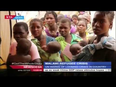 UN warns of looming refugee crisis in Malawi