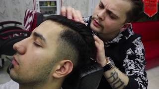 ASMR MASSAGE BY TURKISH BARBER ANIL CAKMAK(Scalp Massage, Head Massage, Back Massage)