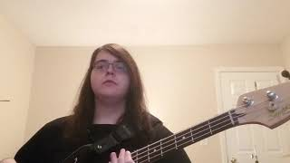 Imagine dragons; It's time bass cover